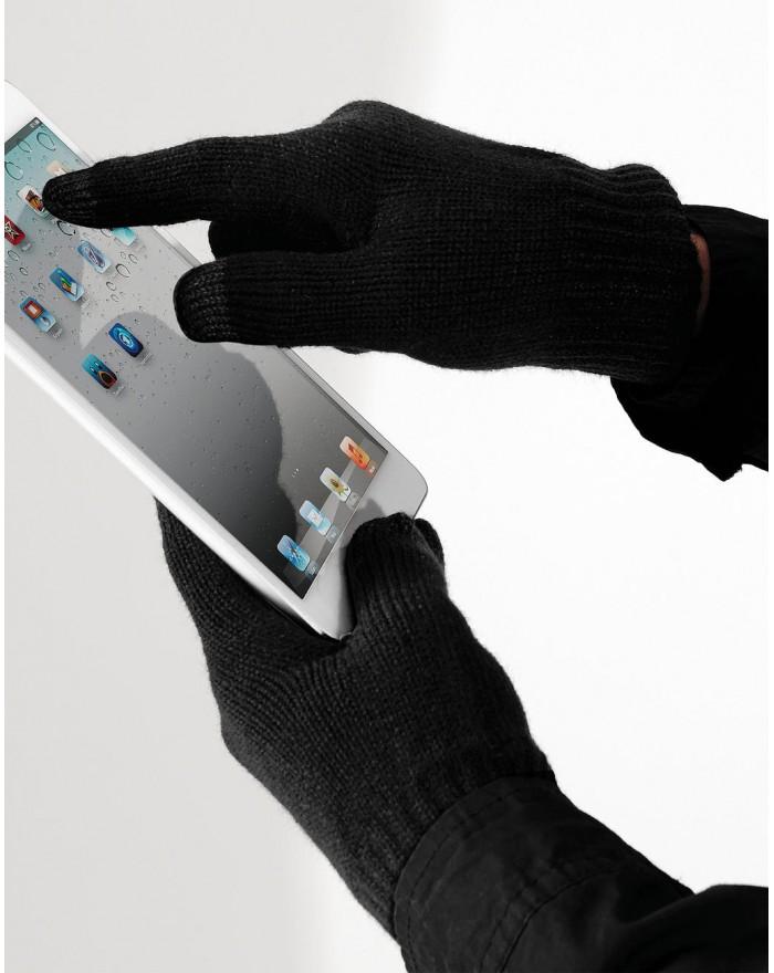 Gants Smart Touchscreen - Casquette Personnalisée avec marquage broderie, flocage ou impression. Grossiste vetements vierge à...
