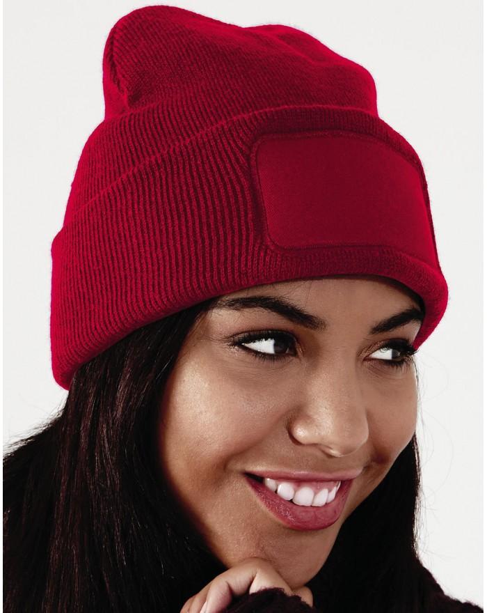 Bonnet à patch original - Casquette Personnalisée avec marquage broderie, flocage ou impression. Grossiste vetements vierge à...