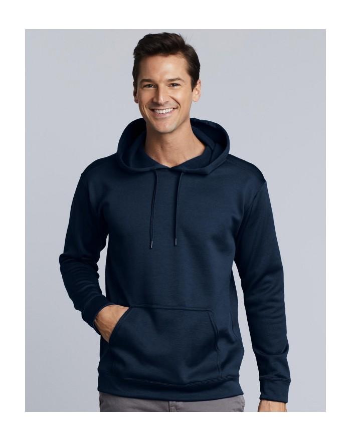 Sweatshirt à Capuche Performance Technique - Vêtements de Sport Personnalisés avec marquage broderie, flocage ou impression. ...