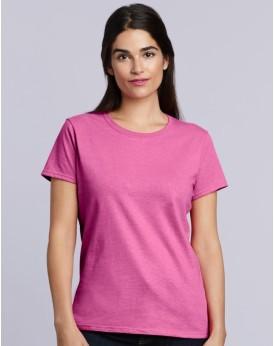 T-Shirt Femme coton lourd - Tee-shirt Personnalisé avec marquage broderie, flocage ou impression. Grossiste vetements vierge ...