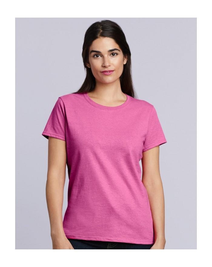T-Shirt Femme coton lourd - Tee shirt Personnalisé avec marquage broderie, flocage ou impression. Grossiste vetements vierge ...