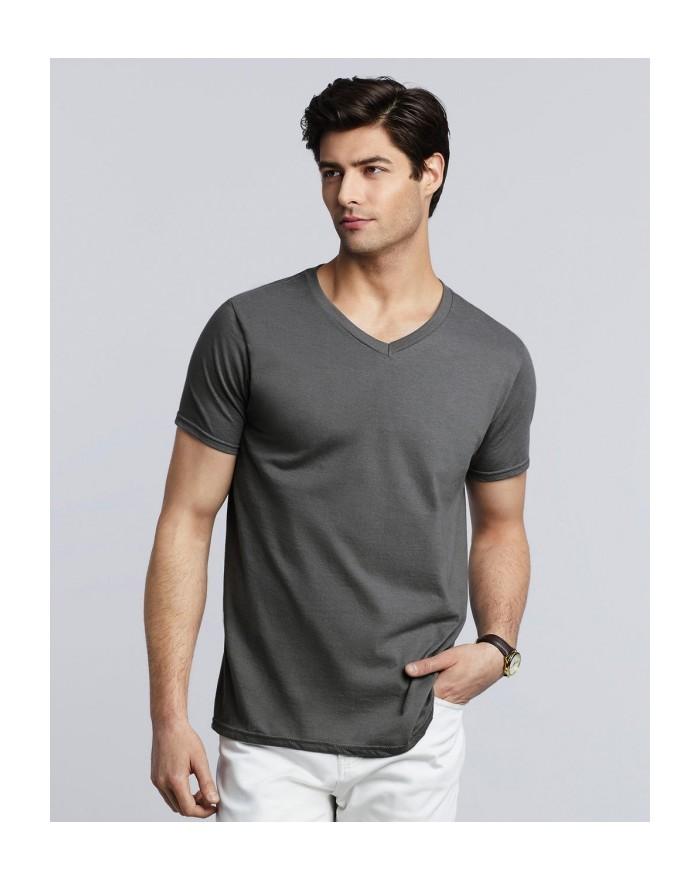 Softstyle® Col-V T-Shirt Tee-shirts