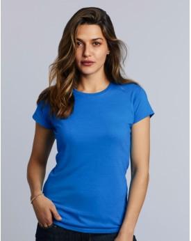 T-Shirt Jersey semi-peigné Femme - Tee-shirt Personnalisé avec marquage broderie, flocage ou impression. Grossiste vetements ...