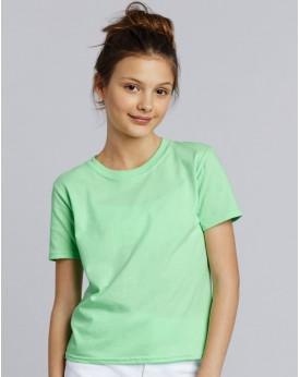 T-Shirt Junior Jersey semi-peigné  - Vêtements Enfant Personnalisés avec marquage broderie, flocage ou impression. Grossiste ...