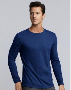 T-Shirt Jersey semi-peigné manches longues - Tee shirt Personnalisé avec marquage broderie, flocage ou impression. Grossiste ...