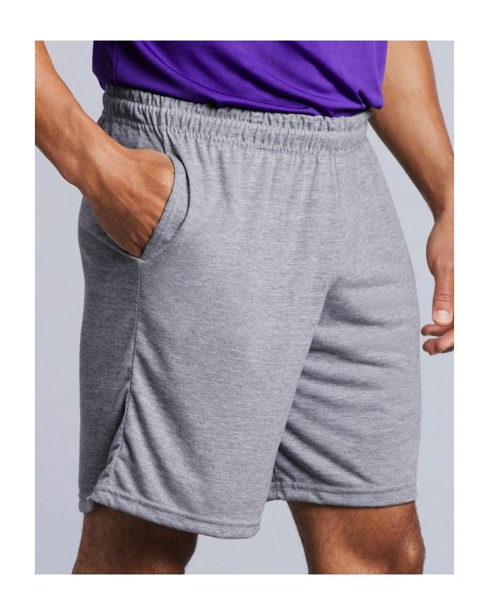 Short adulte Gildan Performance® - Pantalon Personnalisé avec marquage broderie, flocage ou impression. Grossiste vetements v...