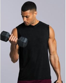 T-Shirt respirant Performance Sans Manches - Vêtements de Sport Personnalisés avec marquage broderie, flocage ou impression. ...