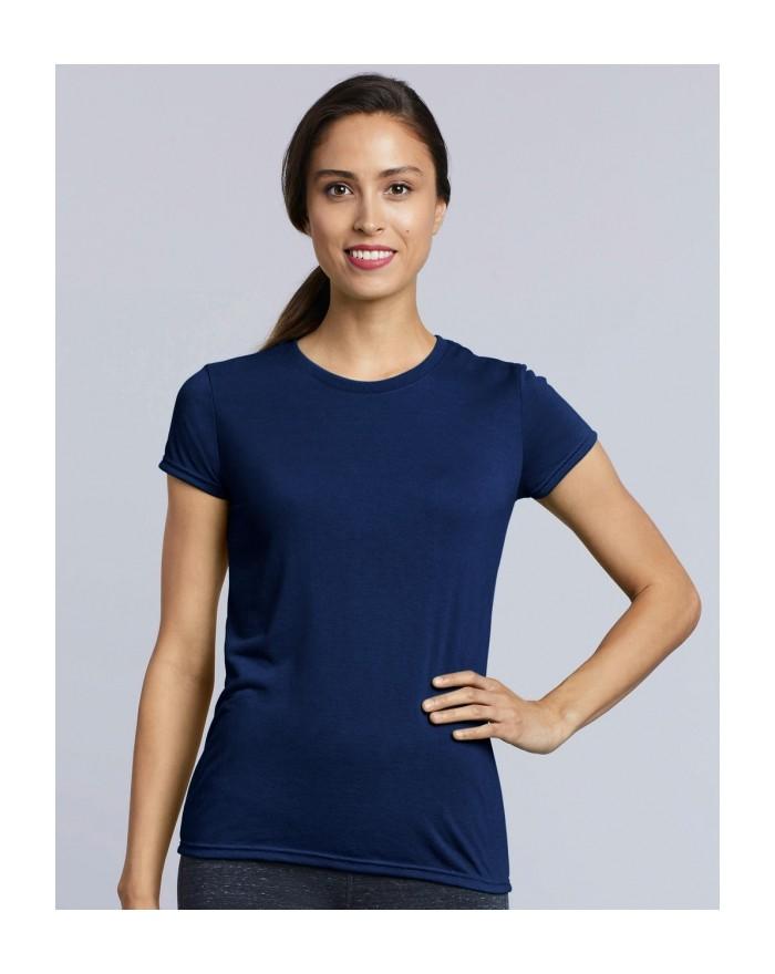 T-Shirt respirant Performance Femme - Vêtements de Sport Personnalisés avec marquage broderie, flocage ou impression. Grossis...