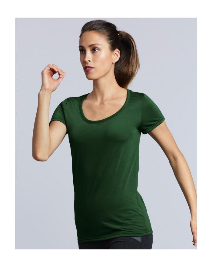 T-shirt respirant Femme Performance basique - Vêtements de Sport Personnalisés avec marquage broderie, flocage ou impression