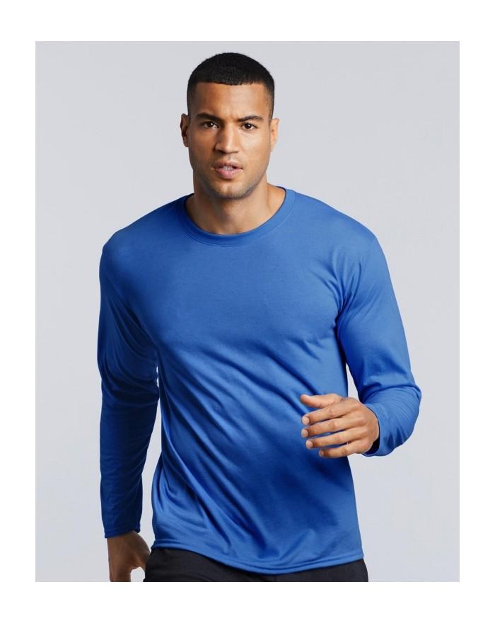 T-shirt manches longues respirant Performance Adulte LS - Vêtements de Sport Personnalisés avec marquage broderie, flocage ou...