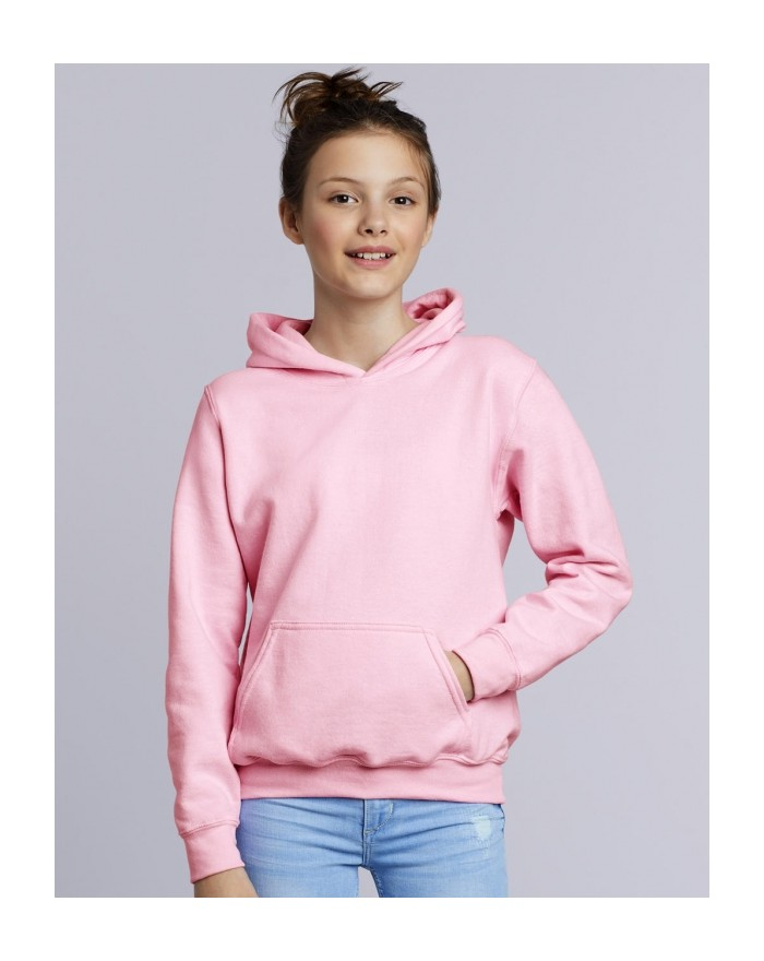 Sweat à Capuche Enfant Heavy Blend - Vêtements Enfant Personnalisés avec marquage broderie, flocage ou impression. Grossiste ...