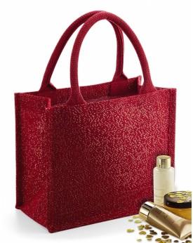 Shimmer Jute Mini Cadeau Sac Bagagerie