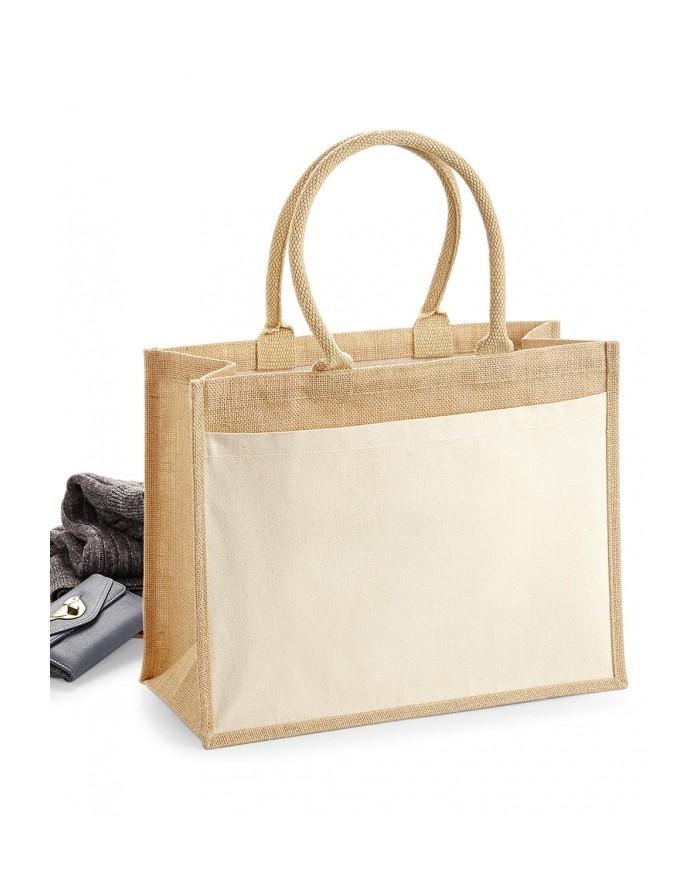 Coton À Poche Jute Sac Shopping - Bagagerie Personnalisée avec marquage broderie, flocage ou impression. Grossiste vetements ...