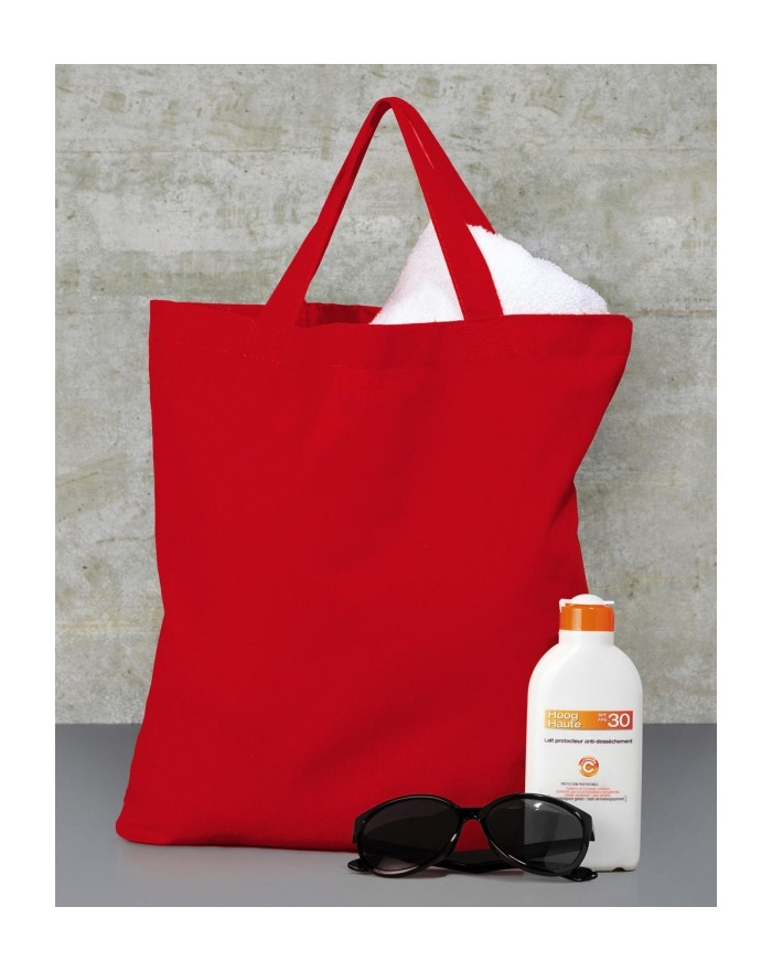 Budget 100 Promo Sac SH, Tote bag anses courtes - Bagagerie Personnalisée avec marquage broderie, flocage ou impression. Grossis