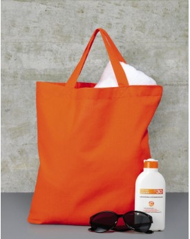 Coton Sac Shopping SH, Tote bag anses courtes - Bagagerie Personnalisée avec marquage broderie, flocage ou impression. Grossi...