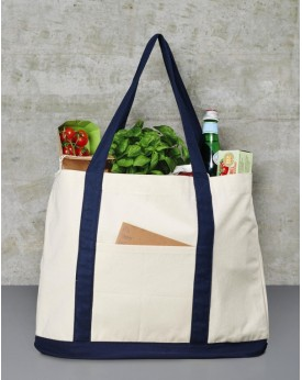 Toile Shopping Sac - Bagagerie Personnalisée avec marquage broderie, flocage ou impression. Grossiste vetements vierge à pers...