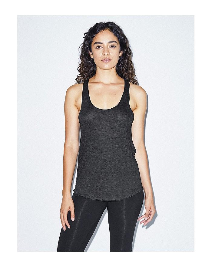 Débardeur Femme Tri-Blend Racerback - Tee-shirt Personnalisé avec marquage broderie, flocage ou impression