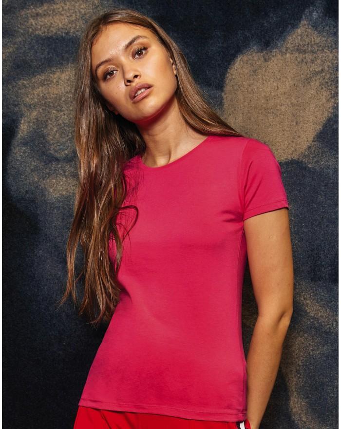 #E150 T-shirt femme - Tee-shirt Personnalisé avec marquage broderie, flocage ou impression. Grossiste vetements vierge à pers...