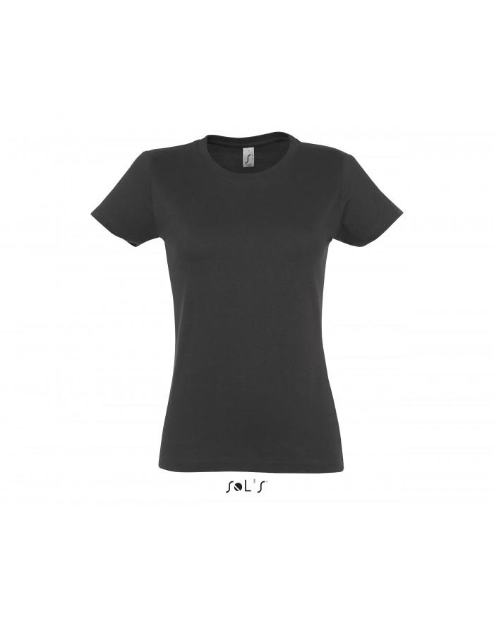 T-shirt Femme IMPERIAL - Tee-shirt Personnalisé avec marquage broderie, flocage ou impression
