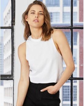 Femme Racerback Crop Débardeur Tee-shirts