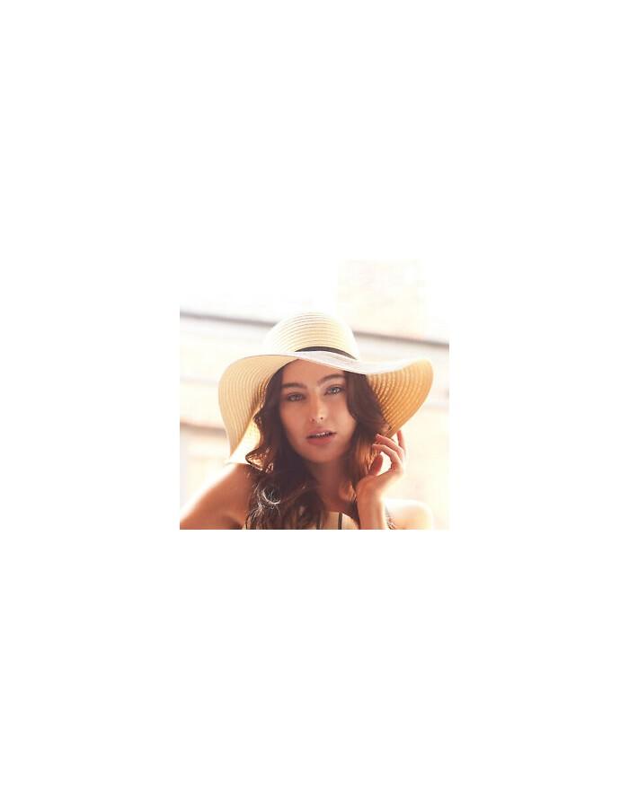Chapeau d'été à bord large Marbella - Casquette Personnalisée avec marquage broderie, flocage ou impression. Grossiste veteme...