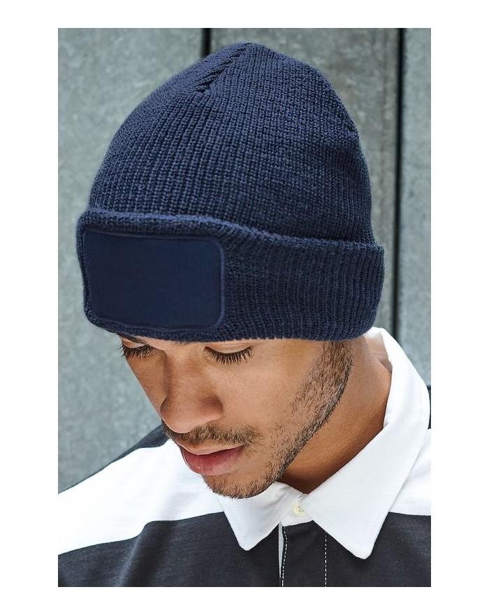 Bonnet à patch Thinsulate - Casquette Personnalisée avec marquage broderie, flocage ou impression. Grossiste vetements vierge...