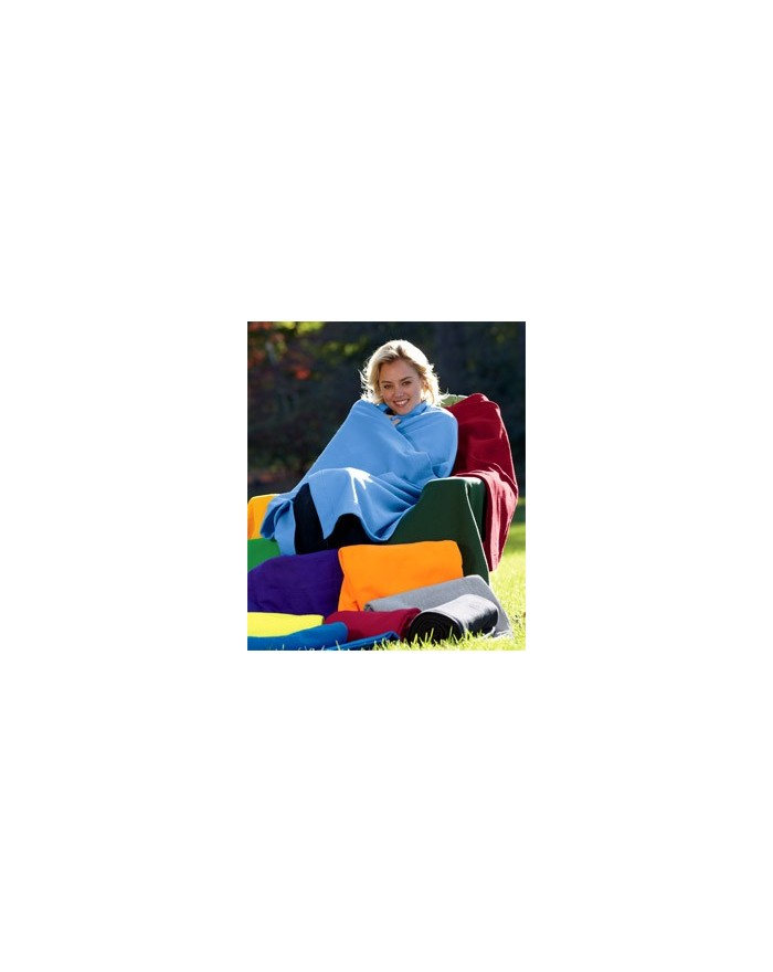 Couverture de stade en polaire Technologie DryBlend - Casquette Personnalisée avec marquage broderie, flocage ou impression. ...