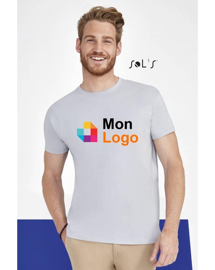 T-shirt REGENT - Tee-shirt Personnalisé avec marquage broderie, flocage ou impression. Grossiste vetements vierge à personnal...