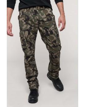 Pantalon multipoches homme Pantalons
