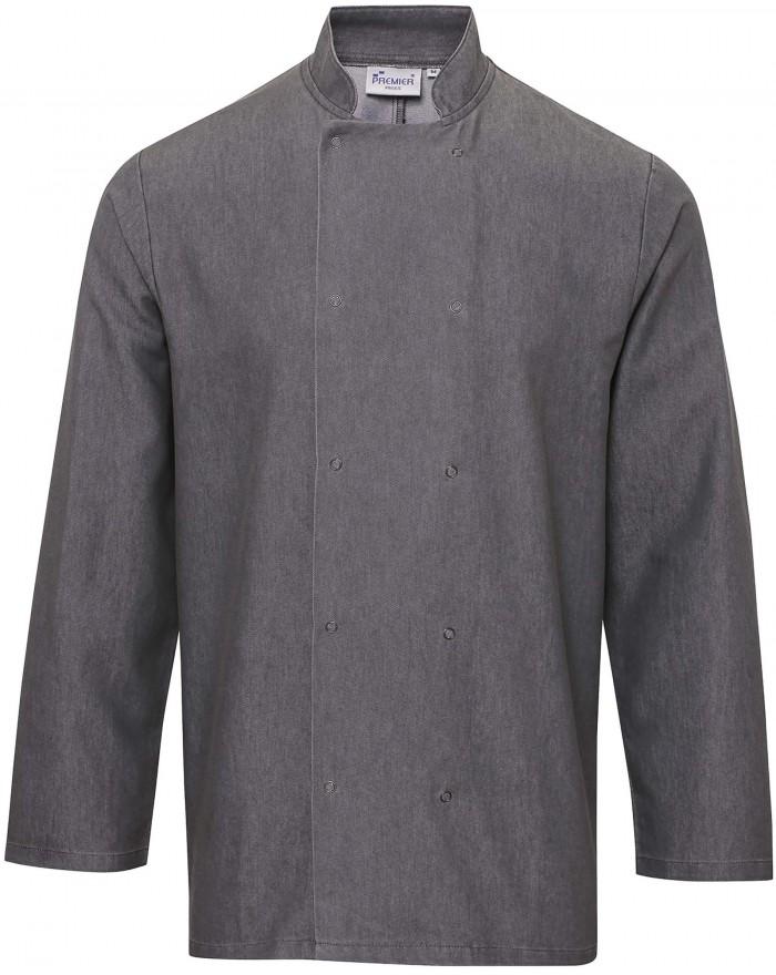 Veste chef cuisinier PZ660 - Vêtement de travail Personnalisé avec marquage broderie, flocage ou impression. Grossiste veteme...